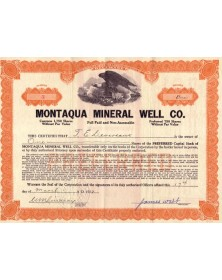 Montaqua Mineral Well Co.