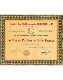 Sté des Ets Bournac & Cie