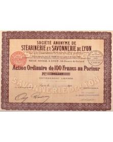 S.A. de Stéarinerie et Savonnerie de Lyon