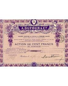 Ets A. Dufour & Cie (Conserveries de Bordeaux)
