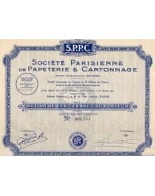 Sté Parisienne de Papeterie & Cartonnage, Anciens Ets Outardel