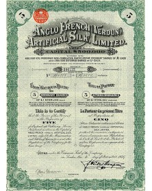 Anglo French (Verdun) Artificial Silk, Ltd.
