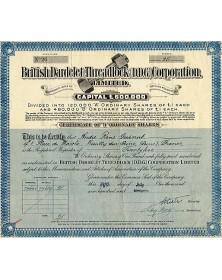 British Dardelet Threadlock Corp.
