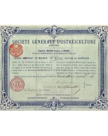 Sté Générale d'Ostréiculture Ltd.