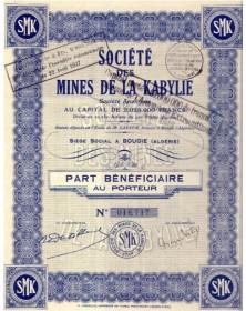 Sté des Mines de la Kabylie