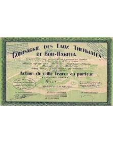 Cie des Eaux Thermales de Bou-Hanifia