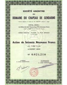 S.A. du Domaine du Chapeau de Gendarme