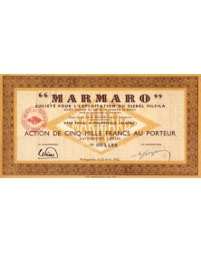 'Marmaro'', Sté pour l'Exploitation du Djebel Filfila