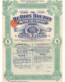 The De Dion Bouton Motor Cab Co., Ltd.