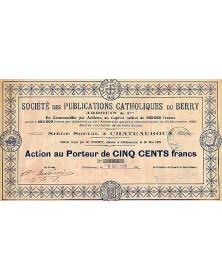 Sté des Publications Catholiques du Berry (Ardouin & Cie)
