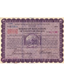 Board Education of the City of Chicago