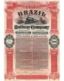 Brazil Railway Co.Emprunts à 50 ans
