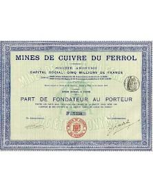 Mines de Cuivre du Ferrol