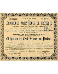 S.A. des Céramiques Artistiques de Provence