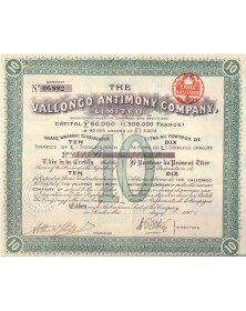 The Vallongo Antimony Co. Ltd.