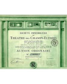 Sté Immobilière du Théâtre des Champs-Elysées