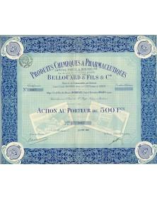Produits Chimiques, Pharmaceutiques & Industriels Bellouard Frères, Dufilho & Cie