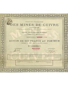 Sté Française des Mines de Cuivre