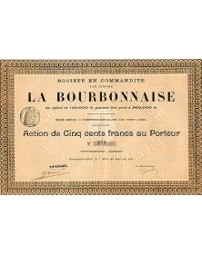 La Bourbonnaise Sté en Commandite par Actions