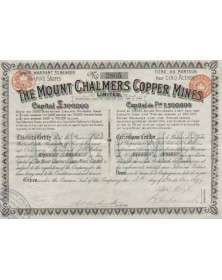 The Mount Chalmers Copper Mines, Ltd.