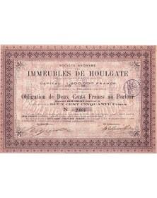 S.A. des Immeubles de Houlgate (Calvados)