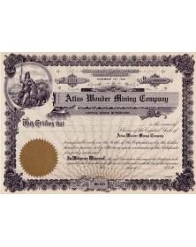 Atlas Wonder Mining Co.