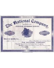 The National Company (Excelsior Enterprise Co.)