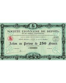 Sté Lyonnaise de Dépôts et de Crédit Industriel