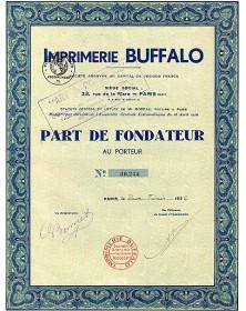 Imprimerie Buffalo
