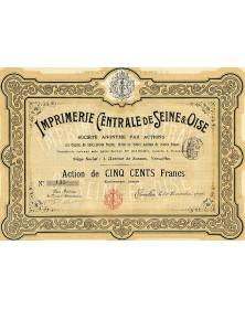 Imprimerie Centrale de Seine & Oise