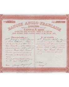 Banque Anglo - Française Ltd.