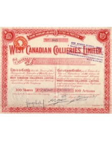 West Canadian Collieries, Ltd.