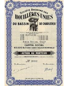 S.A. des Houillères Unies du Bassin de Charleroi