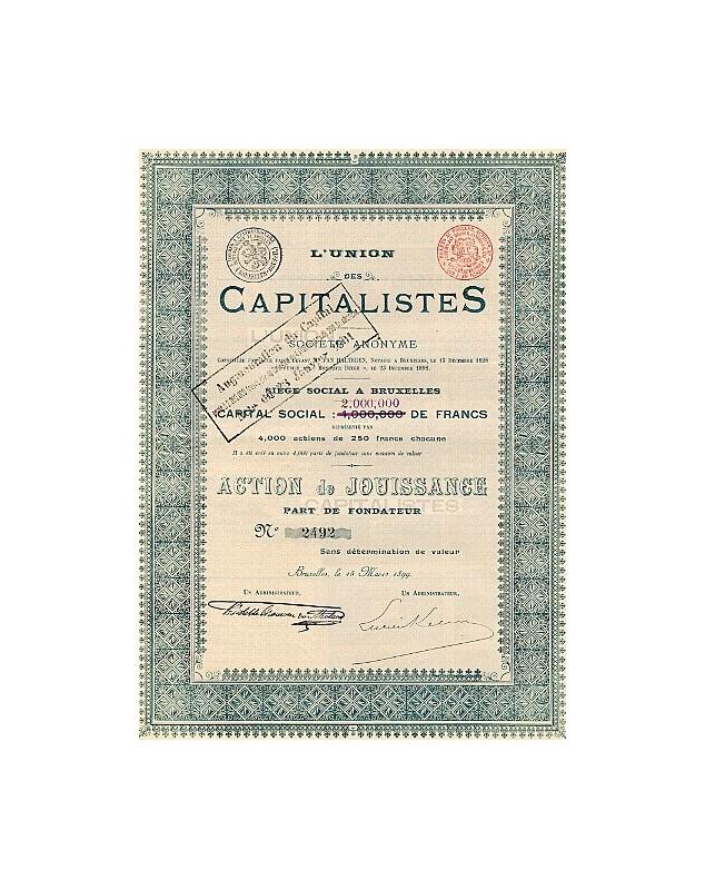 L'Union des Capitalistes