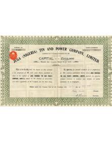 Juga (Nigeria) Tin and Power Co., Ltd.