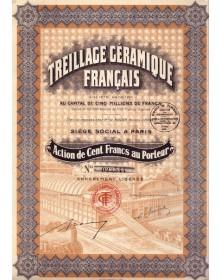 Treillage Céramique Français