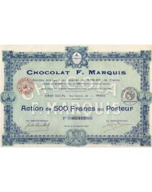 Chocolat F. Marquis