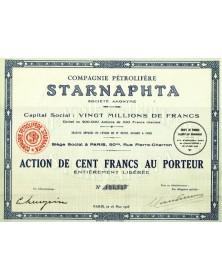 Cie Pétrolifère Starnaphta