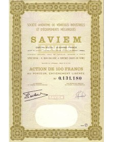 S.A. de Véhicules Industriels et d'Equipements Mécaniques - SAVIEM