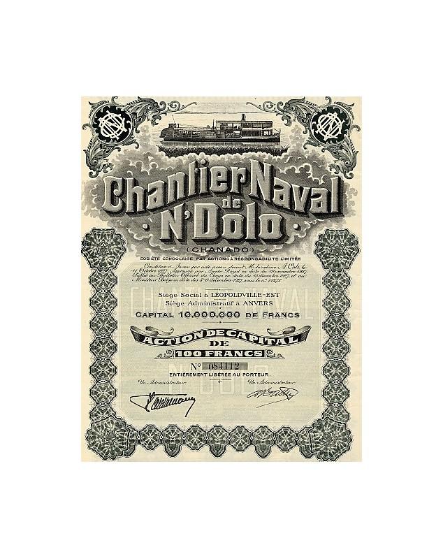 Chantier Naval de N'Dolo