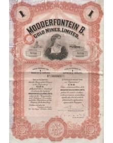 Modderfontein B. Gold Mines, Ltd.