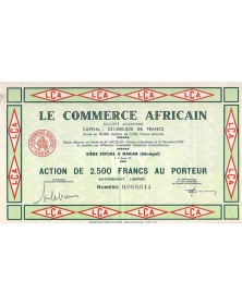 Le Commerce Africain