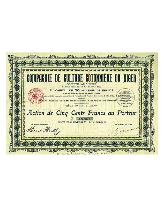 Cie de Culture Cotonnière du Niger