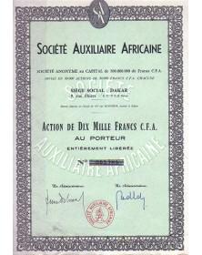 Sté Auxiliaire Africaine