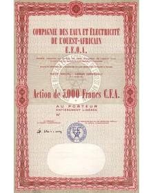 Cie des Eaux et Electricité de l'Ouest-Africain E.E.O.A.
