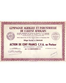 Cie Agricole et Industrielle de l'Ouest Africain