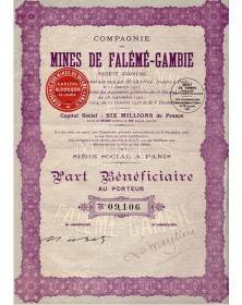 Cie des Mines de Falémé-Gambie