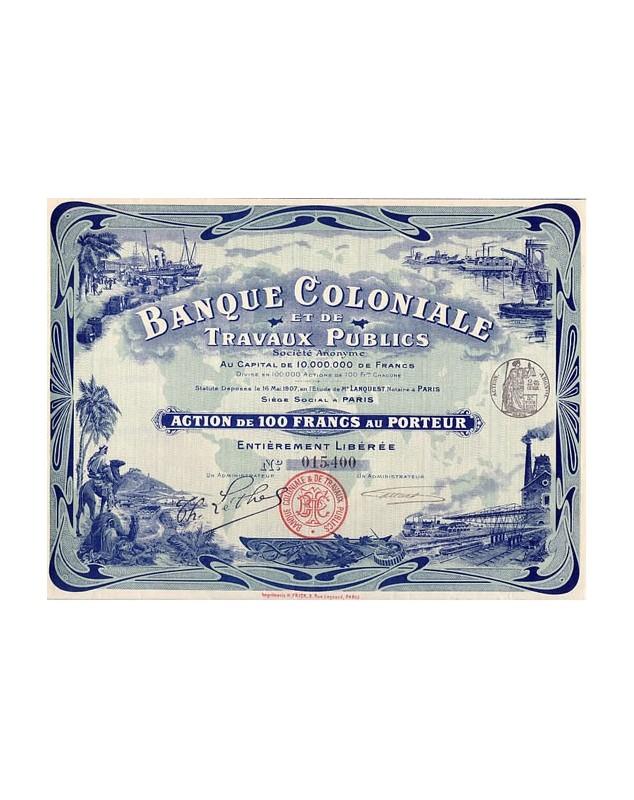 Colonies/Banks