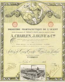 Droguerie Pharmaceutique de l'Ouest A. Charles, J.Olive & Cie