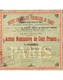 Sté Fédérale des Pharmaciens de France (Droguerie Médicinale de Paris)